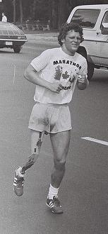 Terry Fox, a great Canadian example of running the race of life