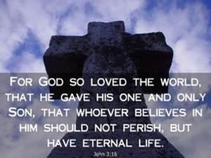 Cross John 3_16