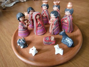 Ceramic Nativity bought in Guatemala is more than just pieces, but a whole thing