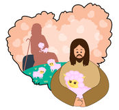 jesus-good-shepherd-i-lays-down-his-life-sheep-41268268